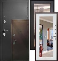 входная металлическая дверь модель Гарда S1 с зеркалом