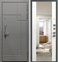 входная металлическая дверь модель Гарда S19 с зеркалом