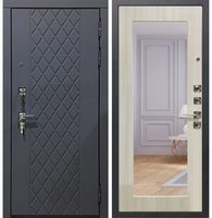 входная металлическая дверь модель Гарда S18 с зеркалом